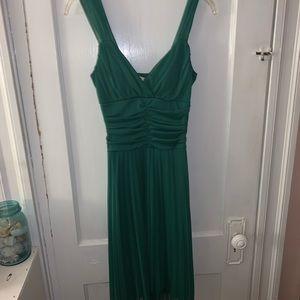 Emerald green dress!